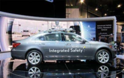 laser tracking and stereo cameras, to achieve its autonomy. Figure 15 The Lexus Advanced Safety Research