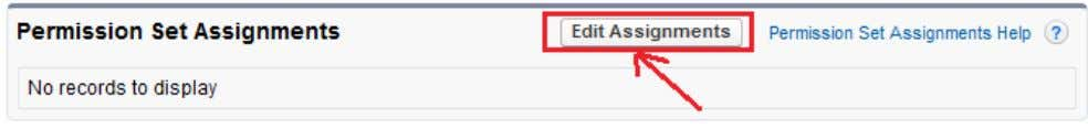 and click on Edit Assignment button. you can see below. After that select user permissions, then