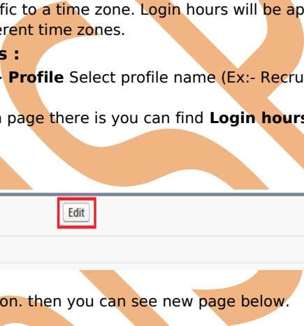 at those exact times even for users in different time zones. How to Set Login hours