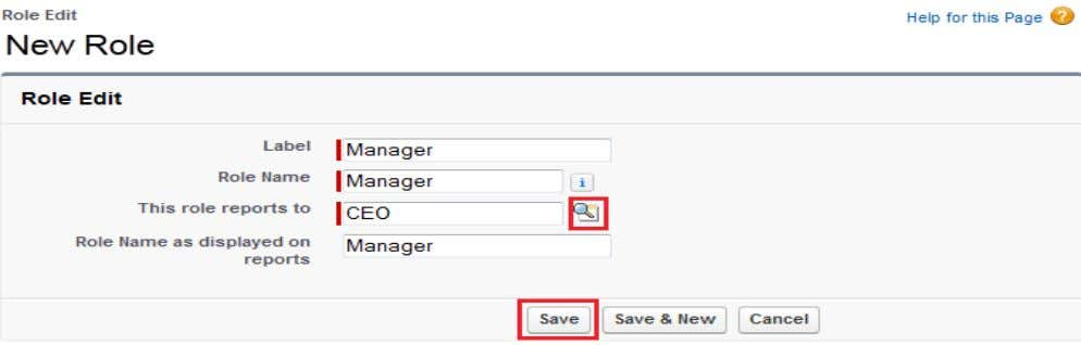 Label, Role Name, Report to then click on Save button. www.hyperionguru.com After that you can see