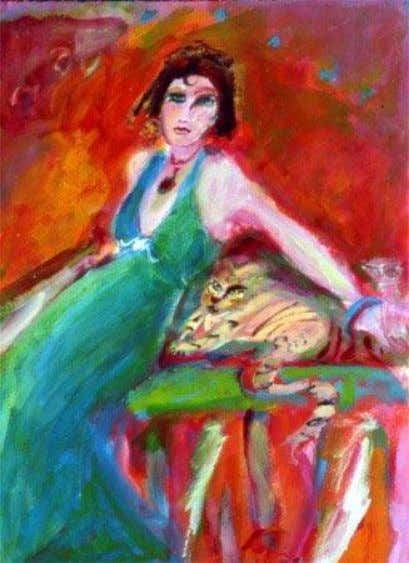 47. Expressionism ―Lady and Her Cat‖ Millie Shapiro ―The Muse‖ Jeff Buckley