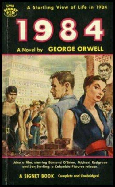 79. omniscient point of view George Orwell's 1984 Joseph Stalin