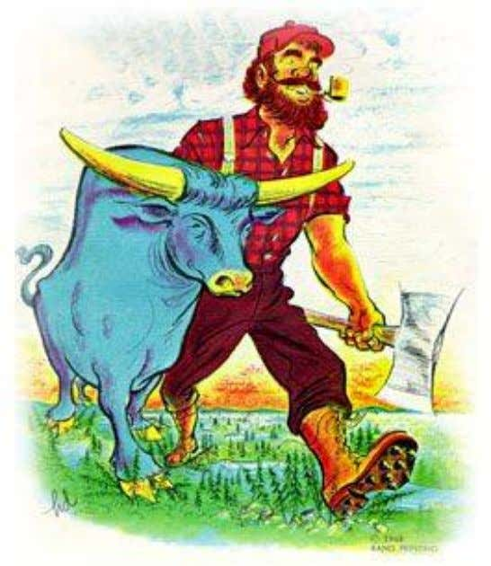 Babe the Blue Ox 8. allusion