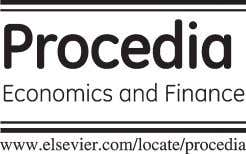 Procedia Economics and Finance 23 (2015) 563 – 567 2nd G LOBAL CONFERENCE on BUSINESS, ECONOMICS,
