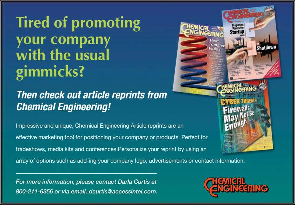 Tired of promoting your company with the usual gimmicks? Then check out article reprints from