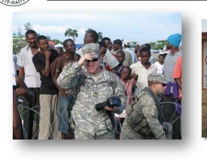 Who we are… Major Paul Hayes -16 years US Army -Assigned to 3 r d ESC,