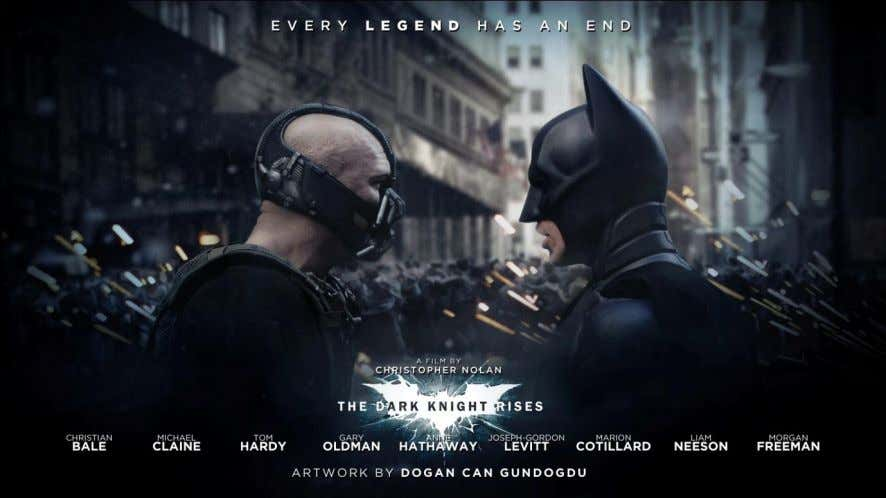 REVIEW TEXT Name : Nadia Kurnia Hapsari Class : XII Science 2/22 THE DARK KNIGHT RISES