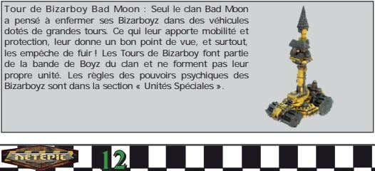 Tour de Bizarboy Bad Moon : Seul le clan Bad Moon a pensé à enfermer