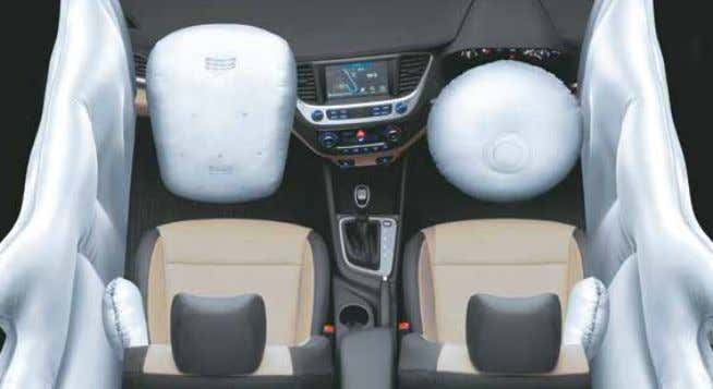 With ABS Without ABS ABS with EBD New Cornering Lamp 6 Airbags (Driver, Passenger, Front Side