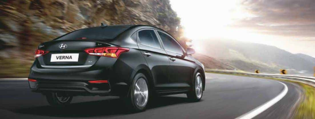 Dynamic Performance The Next Gen VERNA leads its class with powerful and efficient diesel and