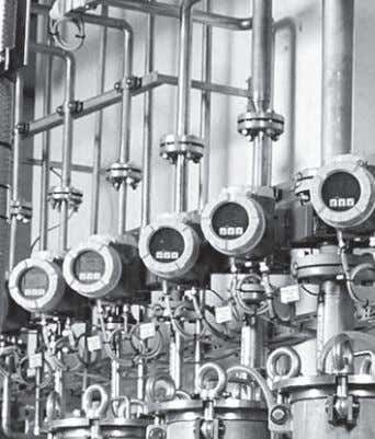 "electromagnetic flowmeters throughout their lifecycle. ""The meter must remain completely full at all time."""