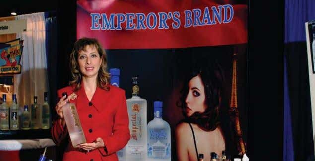 • SPECIAL AD RATES AVAILABLE ONLINE www.binonline.net EMPEROR'S BRAND VODKAS Emperor's Brand Vodkas, which