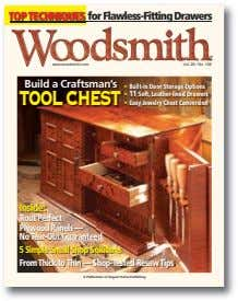 TOPTECHNIQUES for Flawless-Fitting Drawers ® www.woodsmith.com Vol. 28 / No. 168 Build a Craftsman's >
