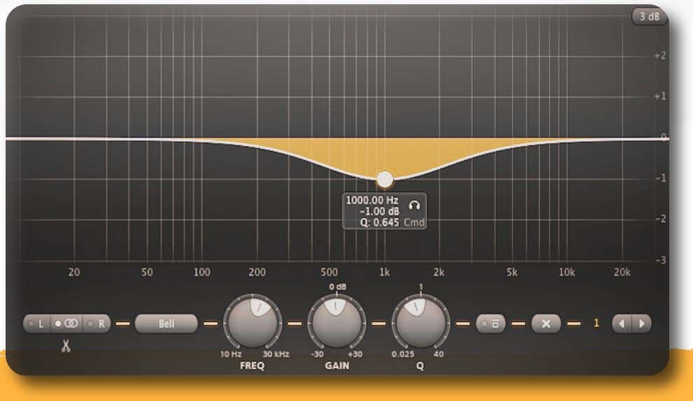 - Mastering EQ Cheat Sheet { Less Hard . Depth . Bigger } Frequency: 900Hz –