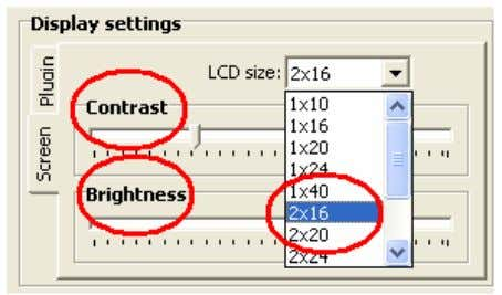 consistent with what is being simulated with LCD Smartie. Fig 1.7 Select the type of LCD