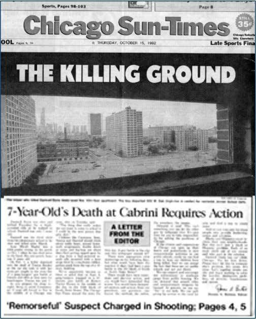 How Would You Respond? This was front page of a major Chicago newspaper in October 1992…the