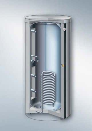 area. Fig. 35: Vitocell 100-E, 750 and 1000 litre capacity Fig. 36: Vitocell 140-E Heating water