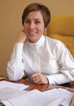 orders—a service that we also pro- vide in addition to our Natalia Yumasheva, commercial director of