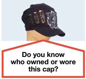 Do you know who owned or wore this cap?