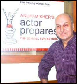 in various cities like Ahmedabad, Chandigarh and in London. 'Actor Prepares' has introduced many of the