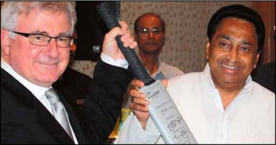 : NZ Trade Minister Tim Groser and former Indian Commerce Minister Kamal Nath during a