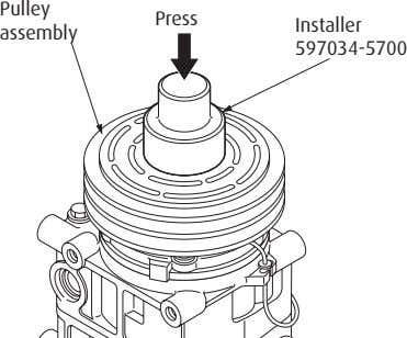Pulley Press Installer assembly 597034-5700