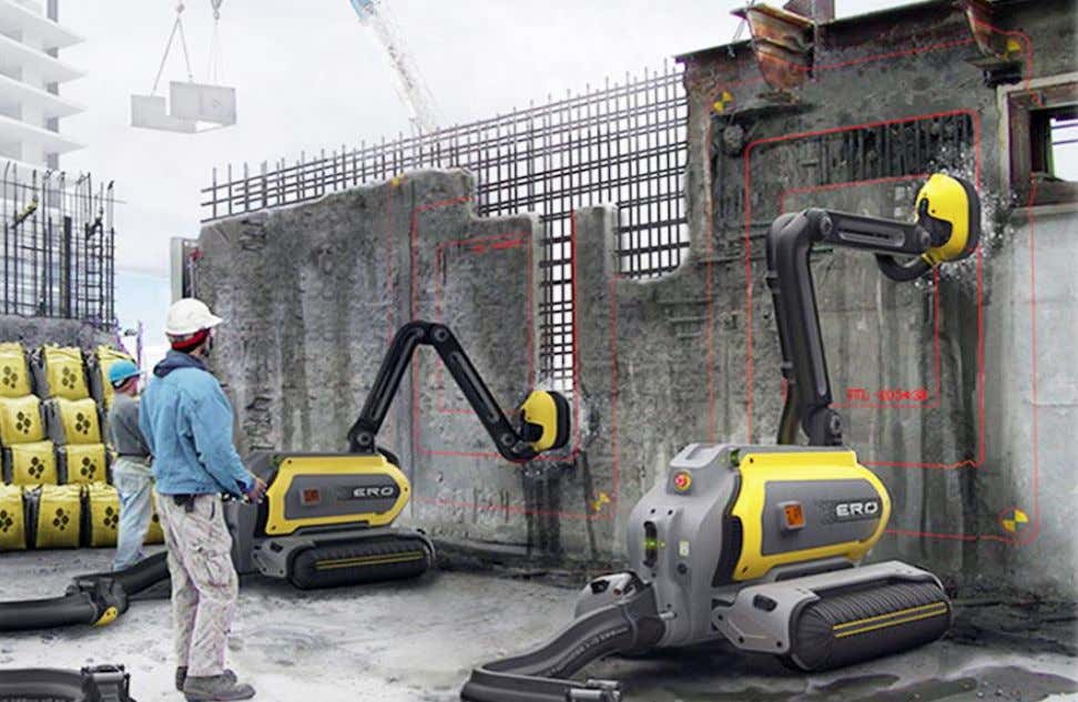 of Construction & Demolition Waste – Ready Reckoner Photo 3: Robot for eating concrete Photo 4: