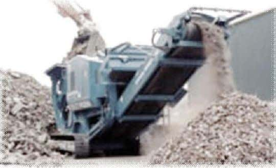 available as illustrated below in Photos. CRUSHING BUCKET ON SITE CRUSHER Photo 10: Mobile/ in-situ crushers