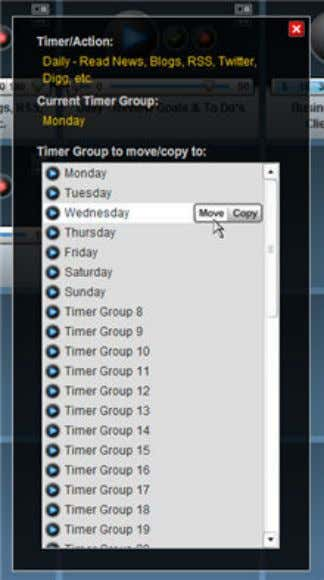 When your mouse is over the name of the Timer Group you want to move/copy