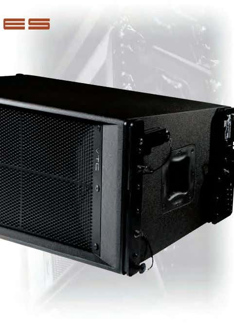 LOUDSPEAKER Features: ➤ Paraline High Frequency Horn Element (patent pending) ➤ Highly Efficient Synergy Horn
