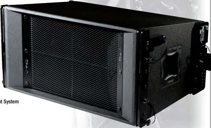 Audio in North America Medium Format Line Array Enclosure Elevation Series line array cabinets solve the