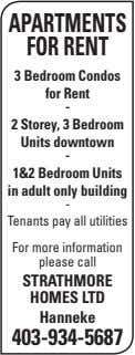 APARTMENTS FOR RENT 3 Bedroom Condos for Rent - 2 Storey, 3 Bedroom Units downtown