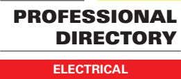 PROFESSIONAL DIRECTORY ELECTRICAL