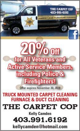 20% Off for All Veterans and Active Service Members, including Police & Firefighters! Offer expires