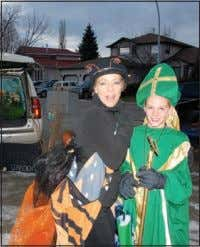 of Ireland, 11-year-old Luke Roch- ford. Manny Everett Photo Christmas Downtown in Strathmore LINDA JENSEN Time