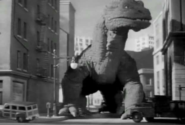 e live-action: implicações para o realismo no cinema Figura 2: The Beast from 20,000 Fathoms, 1953