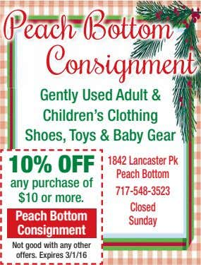Gently Used Adult & Children's Clothing Shoes, Toys & Baby Gear 10% OFF 1842 Lancaster