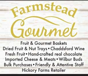 Fruit & Gourmet Baskets Dried Fruit & Nut Trays•Chaddsford Wine Fresh Fruit•Hand-crafted real chocolate