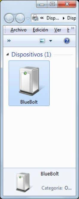 in Windows 7). In this example, you will use COM8 port: Bluetooth HC-06 with serial port