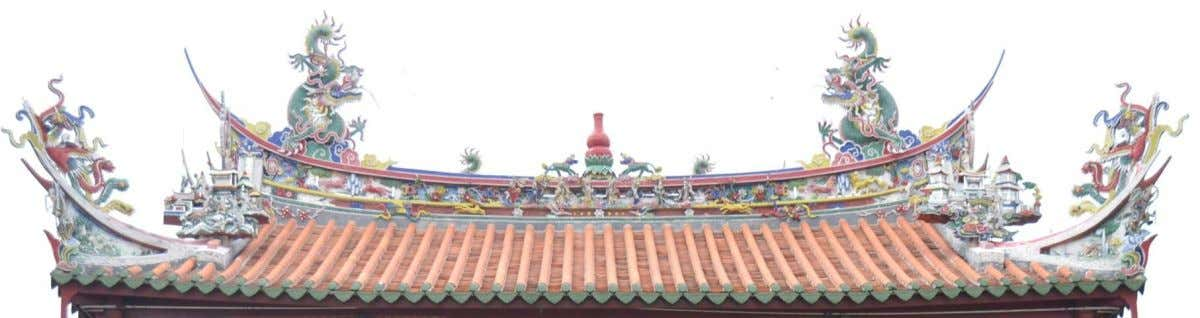 Roof • Influenced by Chinese • Terracota tiles – ornamented - functionality of gutters