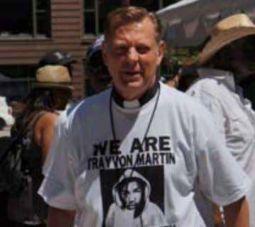 Announcements TRINITY UCC WELCOMES BACK TO THE PULPIT FATHER MICHAEL PFLEGER Community Activist and Senior Pastor,