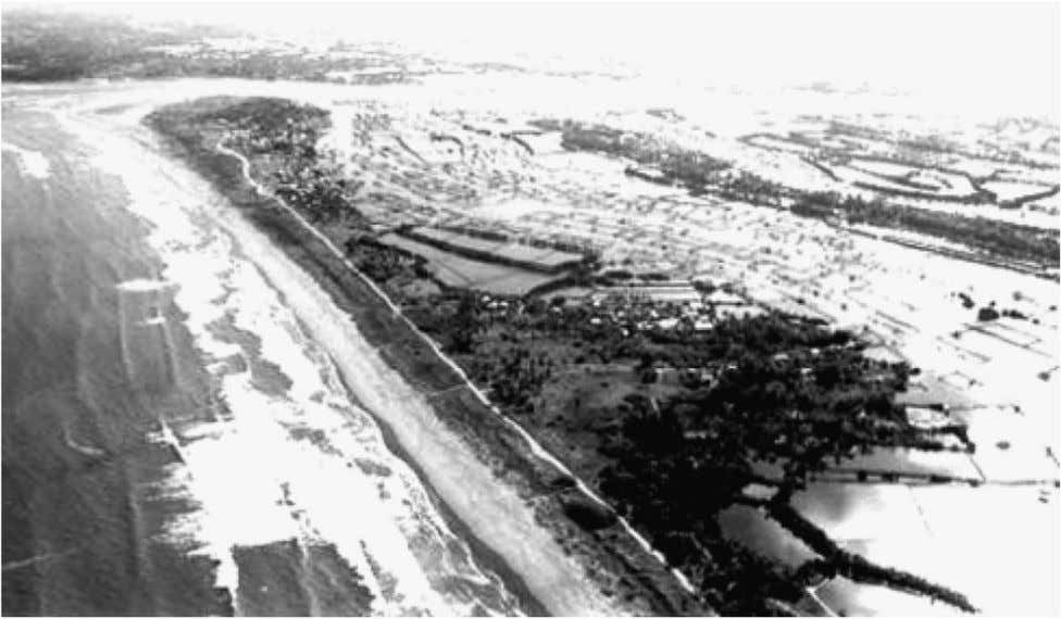 Ponds, pens/cages Extensive, semi-intensive, intensive Fig. 2. Aerial view of Dagupan, Pangasinan, northern