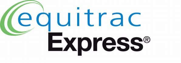 Equitrac Express 4.2.3 Installation Guide © 2011 Equitrac Corporation