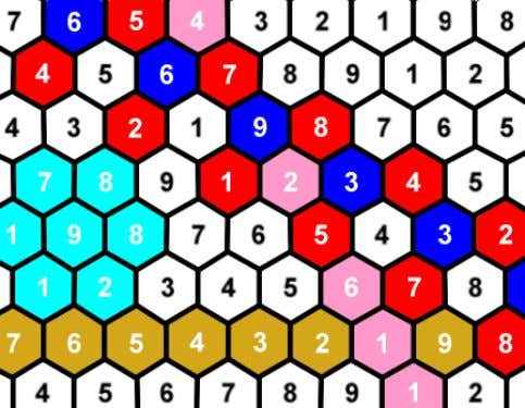 Examples Triangular Layout Hexagonal Layout Even though they overlap to some degree, I have included all