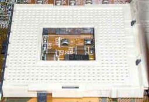 Socket 478: • Socket 478 is a PGA socket used by Intel Pentium 4 microprocessor family