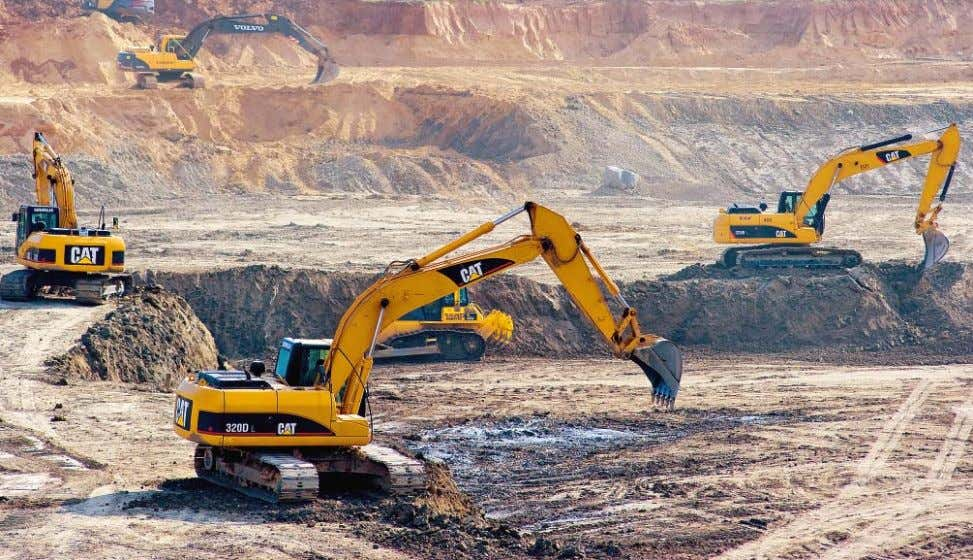 resources, and transparency in the choice of the technology supplier. Excavation works in a desert in