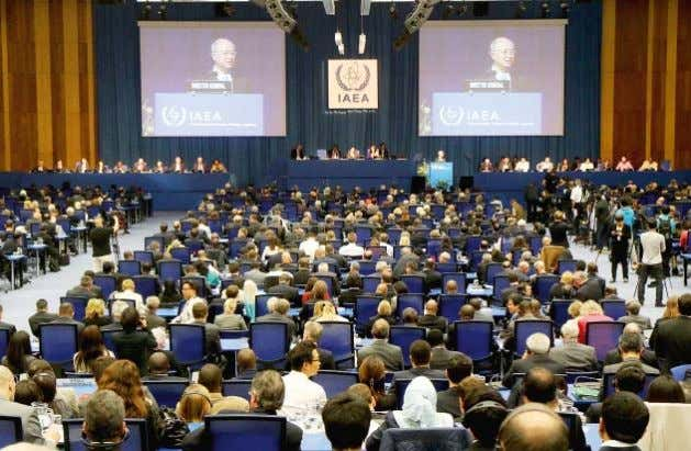were signed on building the Amra NPP in Opening of the IAEA General Conference, Vienna, Austria,