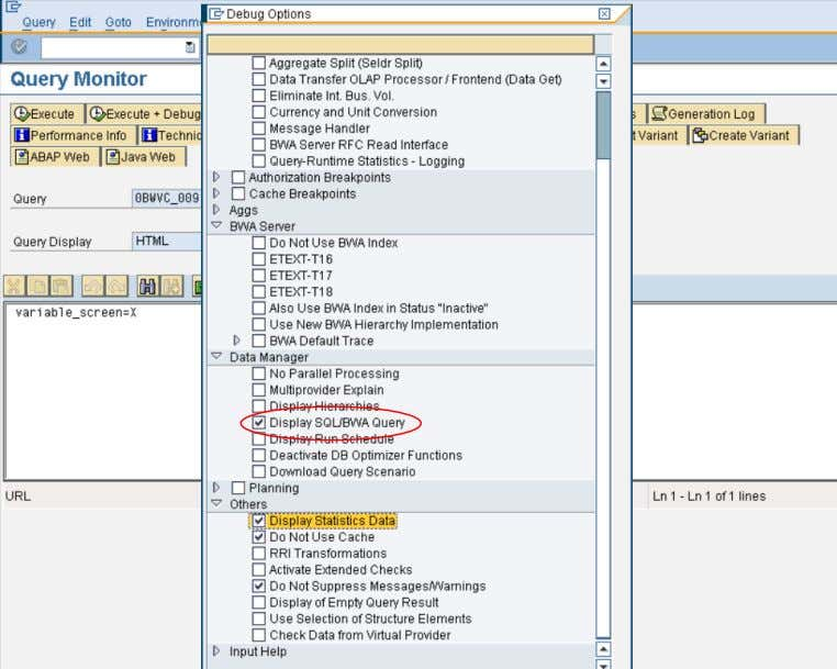 New with SAP NetWeaver BW 7.30 and BW Accelerator 7.20? Execution of the default query with