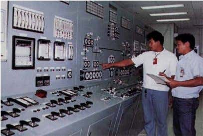 Control Room in a Philippine Geothermal Plant