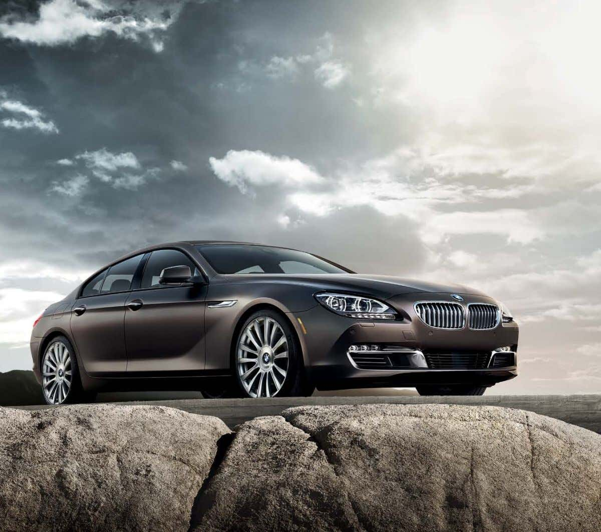 Beauty. Seldom Seen. IntroducIng the BmW 6 SerIeS gran coupé. The BMW 6 Series Gran